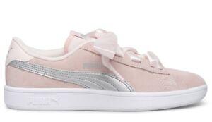 PUMA SMASH V2 RIBBON JR shoes woman sports sneakers leather ... fb8549ff0