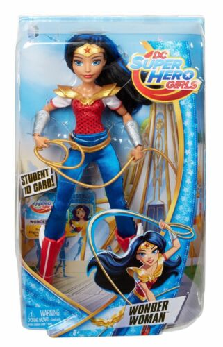 "DC Comics Super Hero Girls 12/"" Wonder Woman W// Student ID Card  6 new"