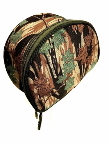 Padded Camo  Fishing Reel Cases Case Bag For Carp Pike Sea Fishing Tackle