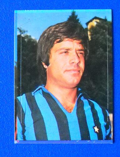 new FIGURINA CALCIO LAMPO 1977-78 INTER MERLO 99 N