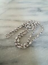 Solid 999 platinum necklace 1/2 oz 45cm RRP £1500
