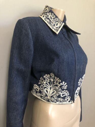 Vintage Denim numbered Diorling Skirt Set  by Chri