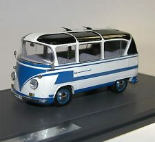 MATRIX Scale Models, VW T1 Auwärter Carlux Bus, 1961-62, blau/weiß, 1/43