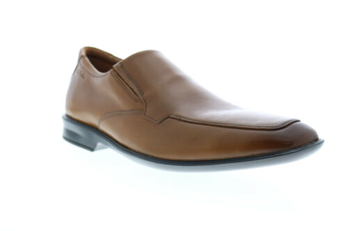 Clarks Bansley Step Mens Brown Wide Loafers /& Slip Ons Casual Shoes