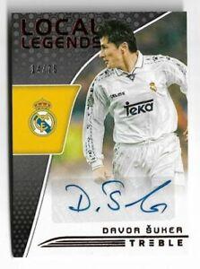 2018-19 Panini Treble Soccer Autograph Auto Card :Davor Suker #14/75
