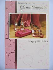 BEAUTIFUL BAG & DANCING SHOES FOR YOU GRANDDAUGHTER BIRTHDAY GREETING CARD