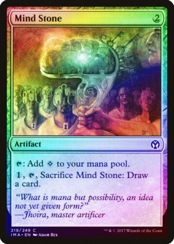 Mind Stone FOIL Iconic Masters NM-M Artifact Common MAGIC MTG CARD ABUGames