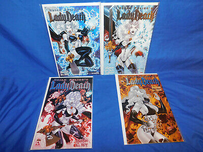 Lady Death Abandon All Hope Deluxe Collector Box Set 50 Book Variants 1 2 3 4 5