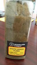 Woodland Scenics Static Grass Flock Burnt Grass FL 633 Model Trains or Diorama