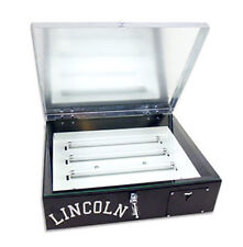 Lincoln 20x24 Exposure Unit With Compression Lid Screen Printing With Free Gift