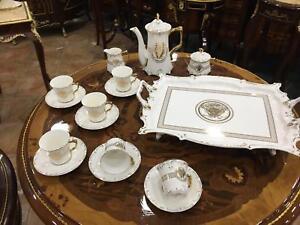 SERVIZIO-DA-CAFFE-VERSACE-PER-6-PERSONE-IN-PORCELLANA-BIANCA-DECORATA-CON-MEDUSA