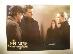 Fringe Season 1 & 2 Trading Card # 56 Carcinogen
