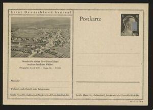 D.Reich Ganzsache P 305 DV 41-1-1-B4, HASSEL ungebraucht (45686)