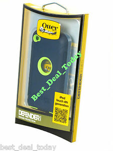OEM-Otterbox-Defender-Case-For-Apple-Ipod-4-4G-4TH-Gen-Atomic-Lime-Green-ITOUCH