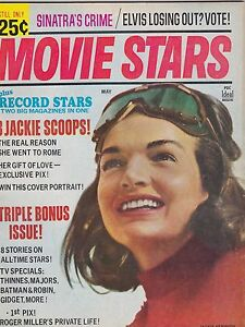 Details about MAY 1966 MOVIE STARS vintage movie magazine JACKIE KENNEDY