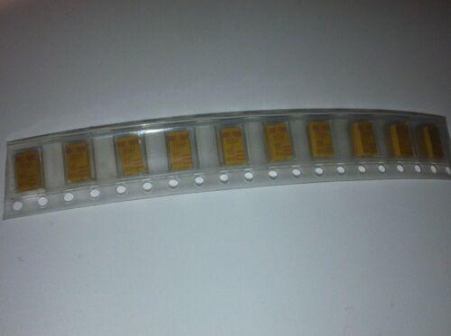10UF 16V surface mount tantale condensateurs case style d blb172 X10