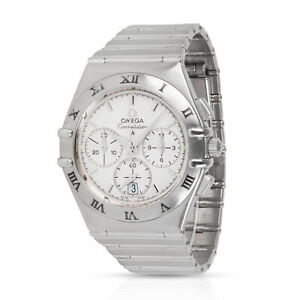 Omega-Constellation-1542-30-00-Men-039-s-Watch-in-Stainless-Steel