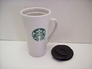 2 Starbucks Coffee Tazo Logo Tea Mugs Cups 2012 Beige with ... |Starbucks Coffee Logo 2012