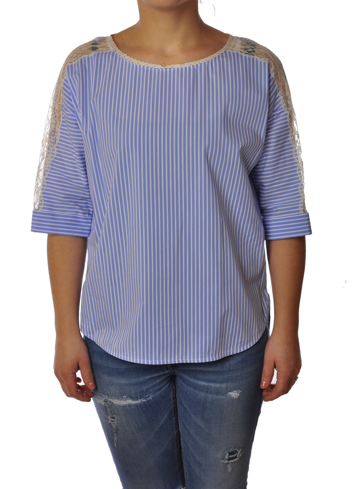 Twin Set - Shirts-Shirt - Woman - Blau - 3057406G184232
