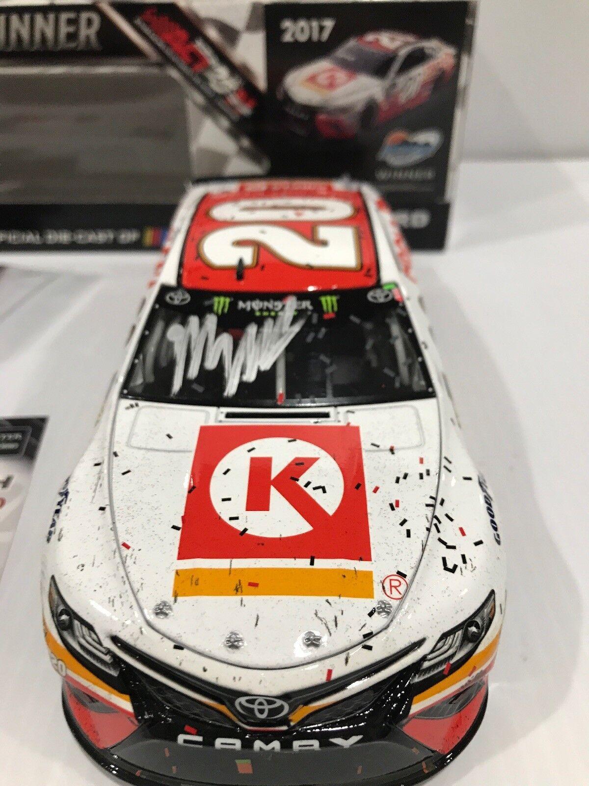 2017_;20 Matt Kenseth Circle K Phoenix Raced Win Autografato