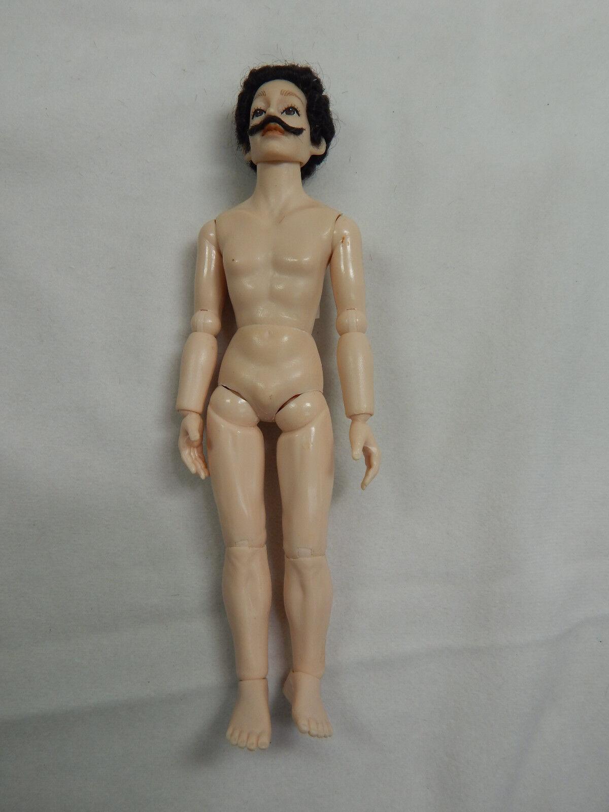 Vuelta de 10 dias Heidi Ott Casa de Muñecas en Miniatura Miniatura Miniatura 6  Desnudo Hombre masculina de Adultos con ojos azules cabello  XKM12  grandes precios de descuento