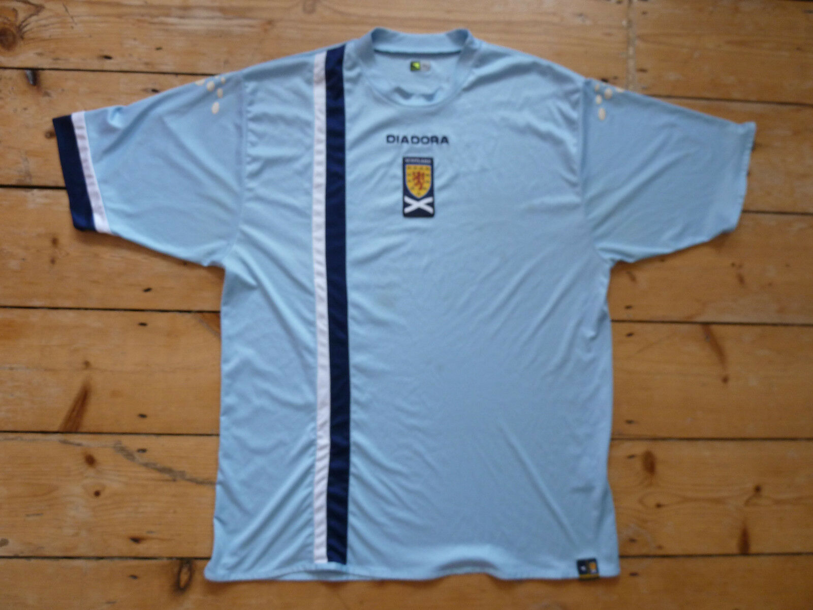 Schottland Fußball Shirt XL 2005 S/S Tartan Army a. Alba B.E Albannach Soar Alba a. e4903f