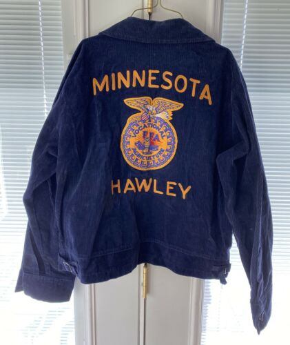 Vintage FFA Jacket Vocational Agriculture Minnesot