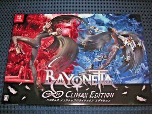 Details about NEW Nintendo Switch Bayonetta Limited ∞ Climax Edition BOX  SET w/BONUS JAPAN FS