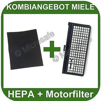 HEPA Filter + Motorfilter für Miele S 371 S371 381 S381