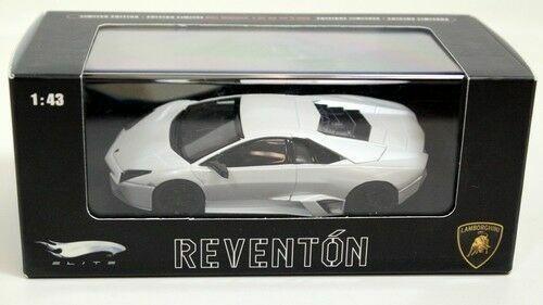 1:43 Hot Wheels Elite Lamborghini Reventon white NEW bei PREMIUM-MODELCARS