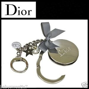 39272cee6cad Image is loading Christian-DIOR-Charm-Pendant-Keychain-Key-Chain-ACCROCHE-