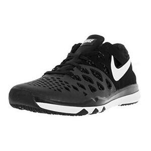 b3c040e2949 New Nike Men s Train Speed 4 Black Black White Size 10