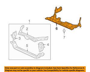 tsx engine diagram acura honda oem 05 08 tsx under radiator engine splash shield  acura honda oem 05 08 tsx under
