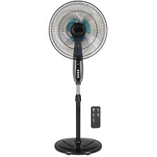 BCP 16in Oscillating Pedestal Fan w/ Timer, Double Blades, Remote Control