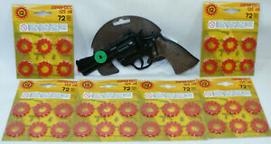 Revolver amorces 12 coups GONHER n°127 + 432 amorces SMITH & WESSON 44 MAGNUM