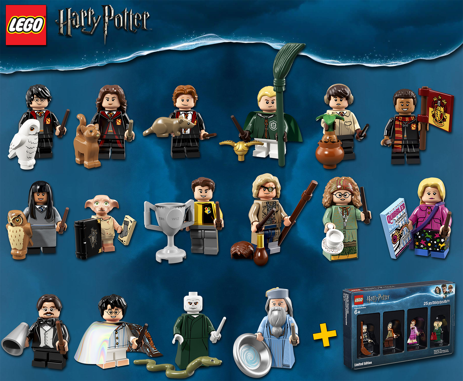 LEGO Minifigures  71022 Harry Potter Series + Boxset  5005254 - 100% NEW