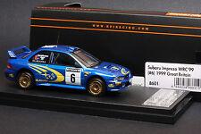 Subaru Impreza #6 1999 Great Britain Rally **Juha Kankkunen** -- HPI #8601 1/43