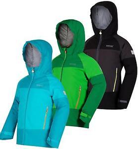 192ef6daf2df Regatta Aptitude II Kids Jacket Waterproof Insulated Stretch