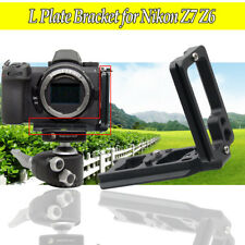 Extendable Vertical Quick Release Tripod L Plate Bracket for Nikon Z7 Z6 Camera