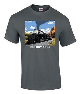 Details about Union Pacific Big Boy 4014 in Utah Authentic Railroad T-Shirt  [110]