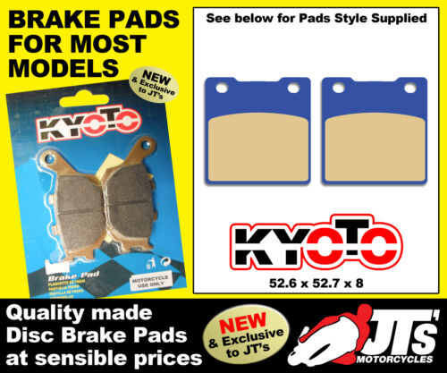 91-03 REAR SET DISC BRAKE PADS KAWASAKI ZXR400 L1 L2 L3 L4 L5 L6 L7 L8 L9
