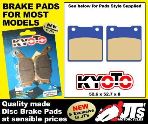 91-03 REAR SET DISC BRAKE PADS KAWASAKI ZXR400 L1 L2 L3 L4 L5 L6 L7 L8 L9