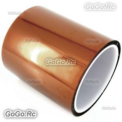 100mm 10cm x 30M Kapton Tape High Temperature Heat Resistant Polyimide -F019-100