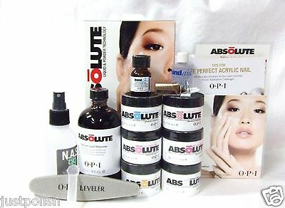 OPI Absolute Powder Liquid INTRO Introductory Acrylic Nail Kit