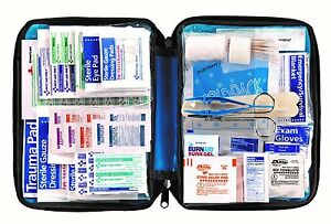 Survival Medical Bag First Aid Kit 299-Piece Emergency Car Auto Outdoor Travel