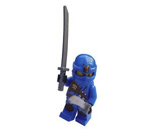 Lego-ninjago-Jay-avec-Deux-Epees-Ninja-Figurine-Mini-njo128-Neuf