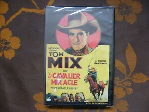 2-DVD-LE-CAVALIER-MIRACLE-B-Reeves-Eason-Bach-Films-2011-Tom-Mix-NEUF