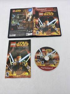PS2 Sony PlayStation (2005) LEGO Star Wars: The Video Game Complete W/ Manual