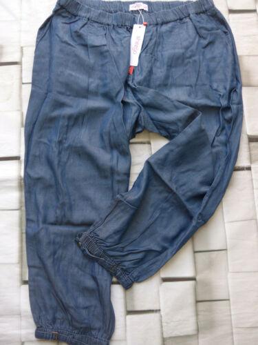 Sheego Damen Jeans Stoffhose Hose Gr 191 40 bis 54 blau Ton