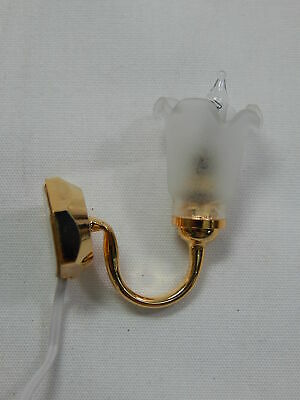 Heidi Ott Dollhouse Miniature Light 1:12 Scale Wall Lamp #YL2617